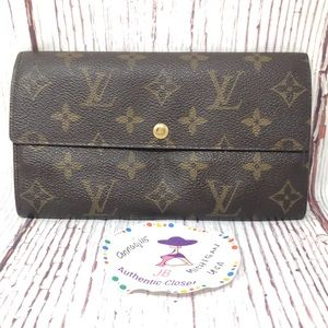 Louis Vuitton Monogram Vintage Sarah Wallet
